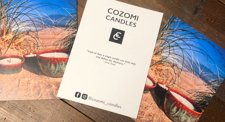 cozomi-candles-postcards
