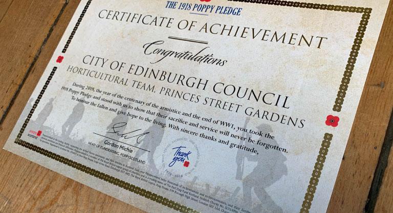 gold-poppy-certificate